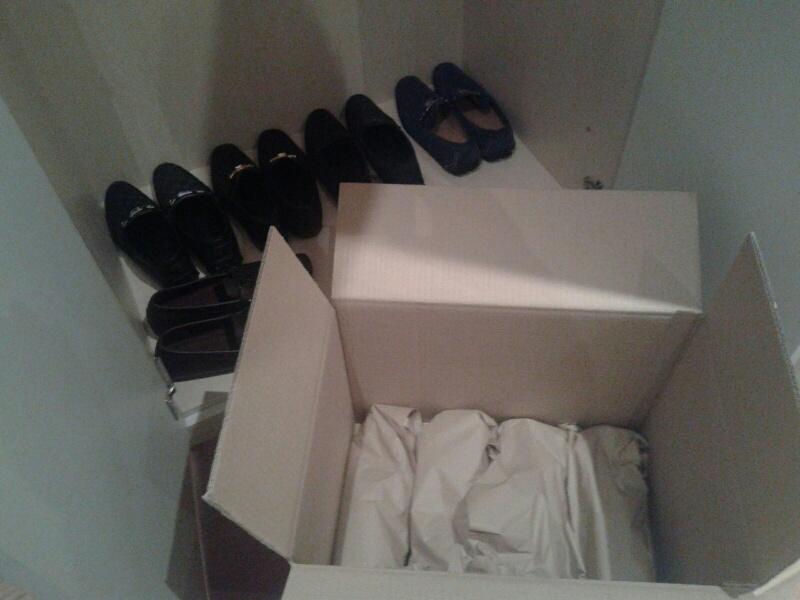 Embalaje de zapatos