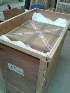 Una caja de madera
