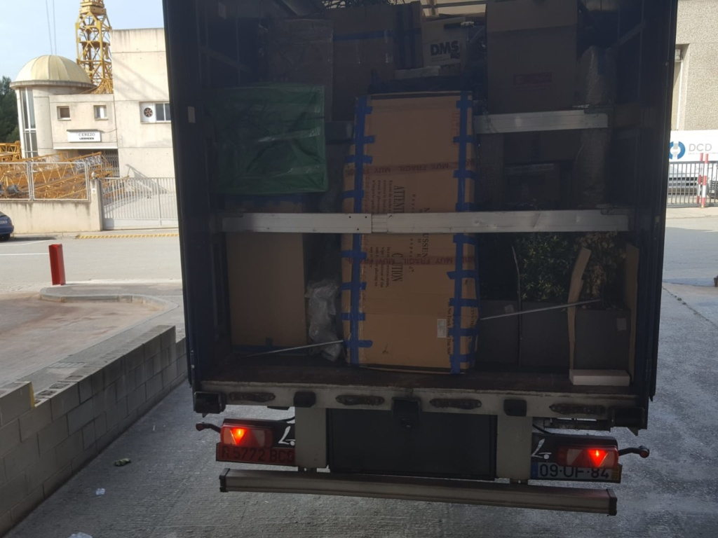Mudanza por camión
