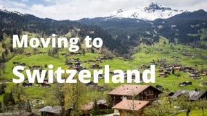 Moving to Switzerland from Spain