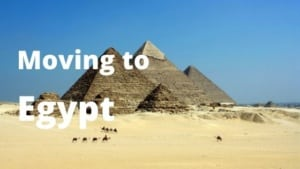 Moving to Egypt from Spain.