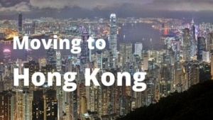 Moving to Hong Kong from Spain.