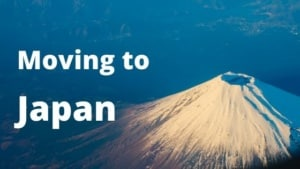 Moving to Japan from Spain. Moving to Tokyo.
