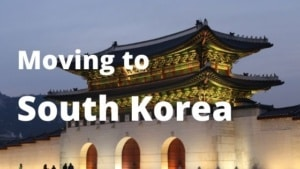 Moving to South Korea from Spain