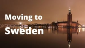 Moving to Sweden from Spain