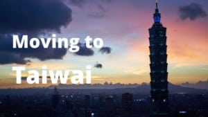 Moving to Taiwan from Spain