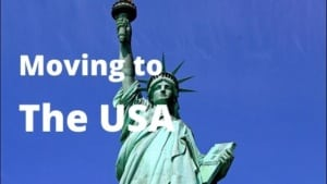 Moving to the USA from Spain. Moving to New York.