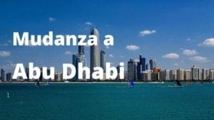 Mudanza a Abu Dhabi