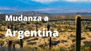 Mudanza a Argentina