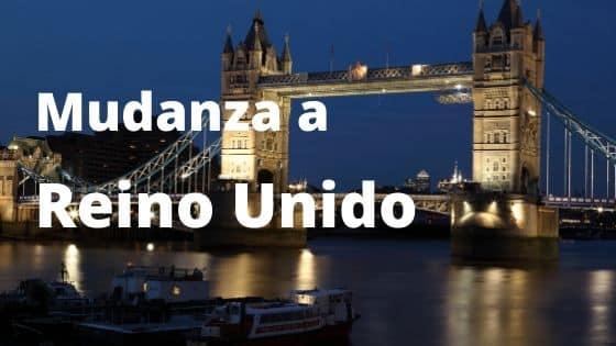 Mudanza a Reino Unido